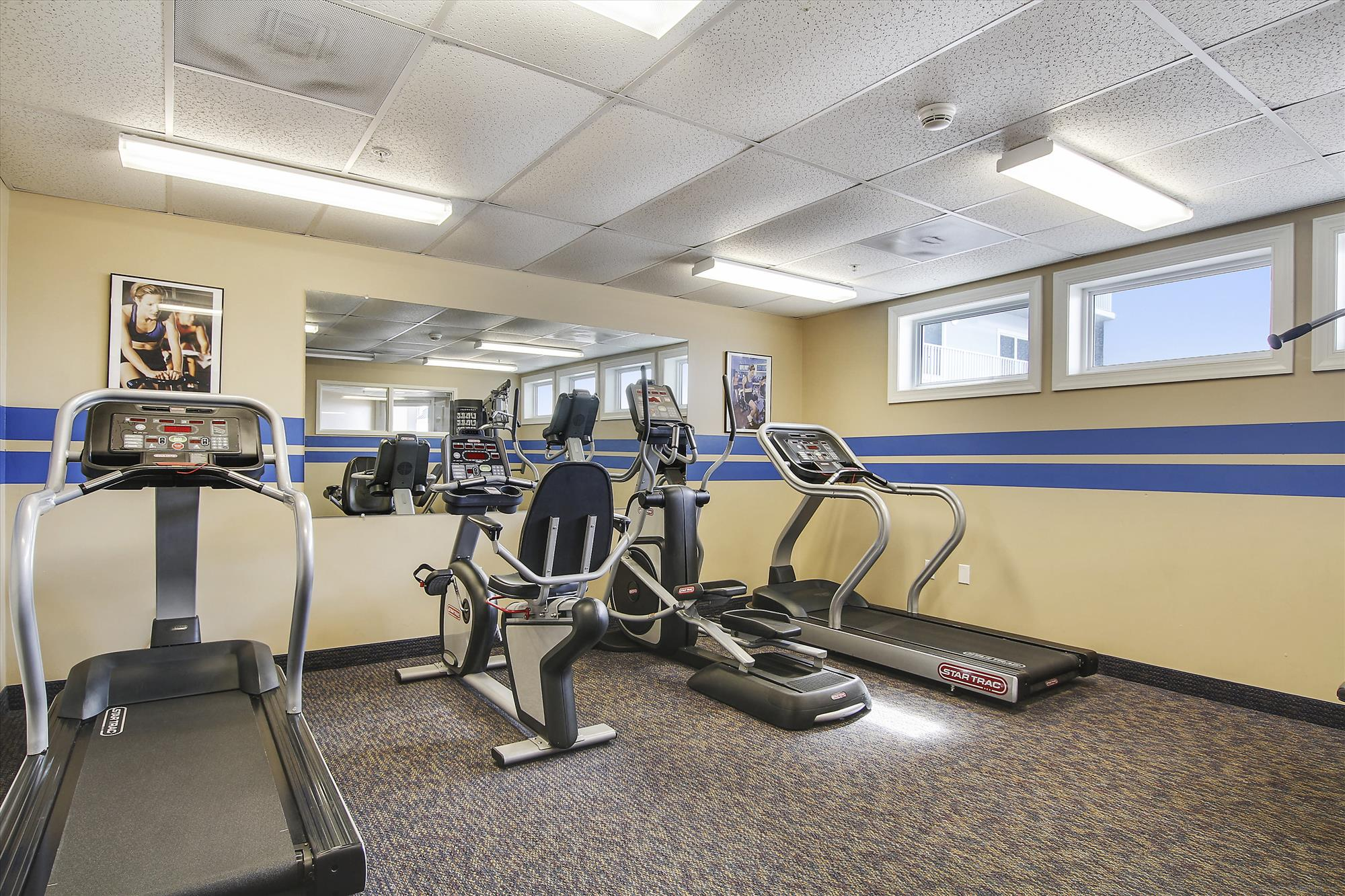 Amenity,Belmont Towers Fitness Room,
